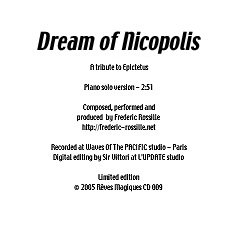 [this is the jacket's record 'Dream of Nicopolis']