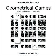 [this is the jacket of the record 'Geometrical Games']