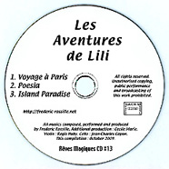 [this is the jacket of the compact-disc 'Les Aventures de Lili']